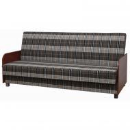 Прямий диван Мебель Софиевки Книжка 3 88х190 см Сірий