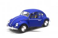 Машинка моделька Volkswagen Beetle KT5057WM Синій