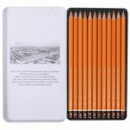 Олівці Koh-i-Noor графітні 1500 Graphic 5В-5Н 12 шт. (1502.III)