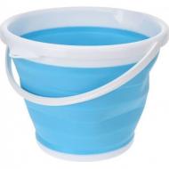 Ведро туристическое Collapsible Bucket складное 10 л Синий