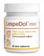 Мочегонный препарат для кошек и маленьких собак Dolfos LespeDol Mini ЛеспеДол Мини 60 табл.