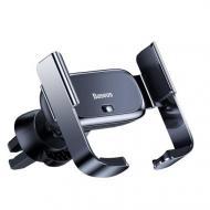 Тримач для мобільного телефона Baseus Mini Electric Car Holder Чорний (SUHW01-01)