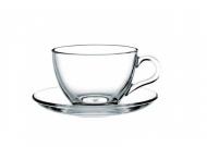 Чашки для чая Basic с блюдцем 215 мл 6 пр. (Ph-97948)