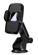 Автомобільний тримач для телефона з затиском на панель/лобове скло REMAX RM-C50 Чорний