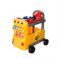 Візок з набором інструментів Tool W054 на батарейці 38 предметів