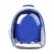 Рюкзак-переноска Taotaopets 253304 Panoramic Blue 35x25x42 см з ілюмінатором