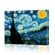 Картина по номерам ArtSale Ночь Ван Гога PBN0162 40х50 см