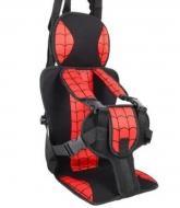 Автокресло детское бескаркасное с подголовником Spider Man
