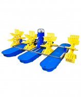 Аератор для Водойми Плаваючий - Колісно-Лопастний