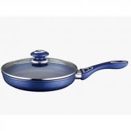 Сковорода Peterhof Blue с крышкой нержавеющая сталь 28 см (15396-28)