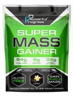 Гейнер високобілковий Powerful Progress Super Mass Gainer 1 кг Ваніль (08198-02)
