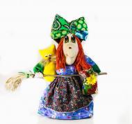 Текстильная кукла Баба-Яга 35 см Vikamade
