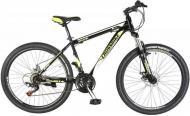 "Велосипед Cross Shark 2021 26"" рама 43 см Чорний/Жовтий"