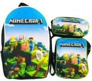 Комплект CrazyBags Minecraft 3в1 (M240L)