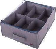 Органайзер для зберігання взуття на 6 пар Сірий (Grey-O-6)
