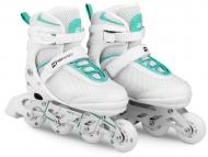 Роликовые коньки Hop-Sport HS-903 Motion 3в1 S (размер) Бело-мятные