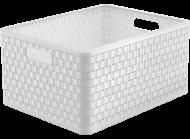 Ящик для зберігання Rotho Country 28 л Білий (RTH-11668-weiss)