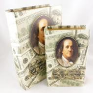 Шкатулка книга Гранд Презент Доллар 2 шт. (27-KSH-XZ-PUXR108)