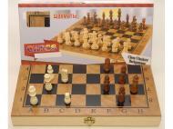 Игровой набор 3в1 Шашки Шахматы Нарды 34,5х34,5 см