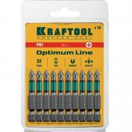 Бита Kraftool PH1х50 мм 10 шт (26122-1-50-10)