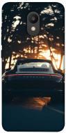 TPU чохол itsPrint Porsche at sunset для Meizu M6