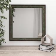 Зеркало настенное Black Mirror 70х70 Темно-зеленый (5835-267)