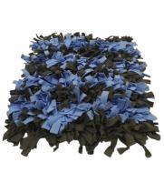 Нюхальний килимок для собак на силіконовій основі Сіро-синій (РКНК_005)