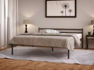Кровать металлическая Comfort 200х160 см Черный