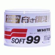 Віск для білих автомобілів Soft99 White Super Wax