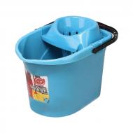 Ведро с отжимом Elif Plastik Синий (MR11790)