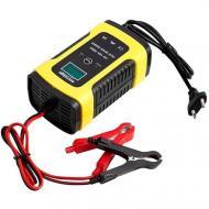 Інтелектуальний зарядний пристрій FOXSUR для авто акумуляторів c ЖК 12 В 5 А (FBC1205D)