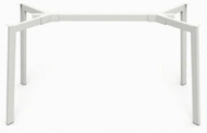 Опора для стола Jeans под столешницы 820-1400 мм Белый (rich50004)