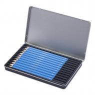 Набір графітних олівців YOVER 12 шт. 5H - 8B (YW-SPT012)