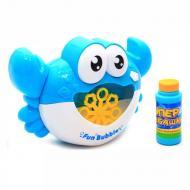 Установка для мильних бульбашок TK Union Group Краб з баночкою мильного розчину Блакитний (058299)