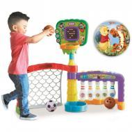 Інтерактивний спортивний центр Little Tikes 3 в 1 (баскетбол, боулінг, футбол) (643224)