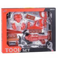 Дитячий набір будівельних інструментів Keyi Червоний (58220)
