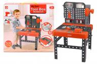Ігровий набір інструментів A-Toys Домашня майстерня 38,5х39,5х67,5см Чорно-червоний (1528B)