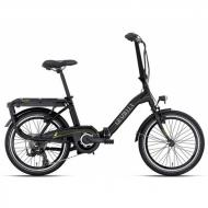"""Електровелосипед Graziella Genio Electric 7S 20"""" чорний (BE05052010)"""