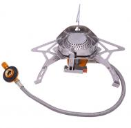 Пальник туристичний газовий Walking YZ-853 з вітрозахистом