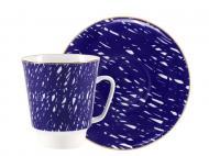 Чашка кофейная с блюдцем ИФЗ Cool 165 мл (27801)