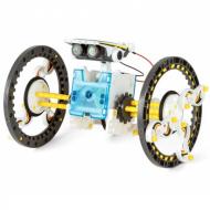 Іграшка дитяча інтерактивна конструктор робот на сонячних батареях 14 в 1 Solar Robot N 214