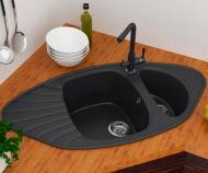 Мийка для кухні Smart House Orena гранітна Чорний
