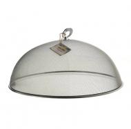 Крышка металлическая москитная на тарелку Flora 35 см 45161