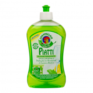Средство для мытья посуды Chante Clair Vert Piatti Лимон та Базилік 500 мл