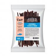 Ласощі HOME FOOD Соломка з м'яса риби для котів 50 г
