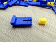 Кріплення для штукатурних маяків КДМ-2 500 шт. пластик