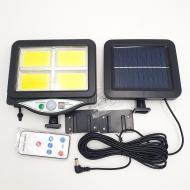 Ліхтар акумуляторний LED Solar Light BL BK128-4COB з пультом на сонячній батареї (2c47a4f2)