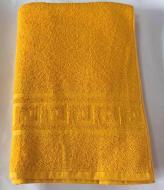 Полотенце махровое 70х140 см 400 г/м2 Желтый