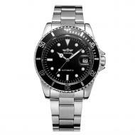 Часы наручные мужские Winner Basel Silver (1035)