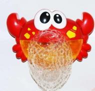 Музична іграшка для ванни краб мильні бульбашки піна